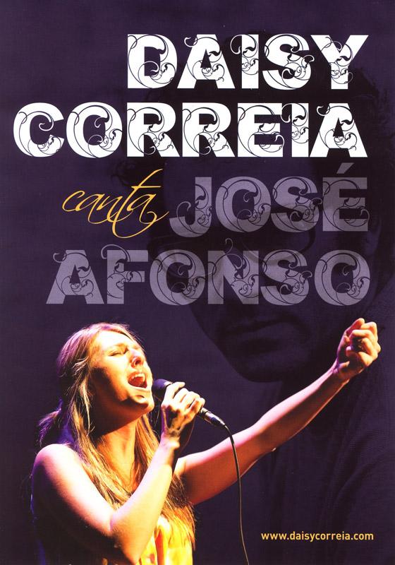 2012-2013 Daisy Correia canta José Afonso