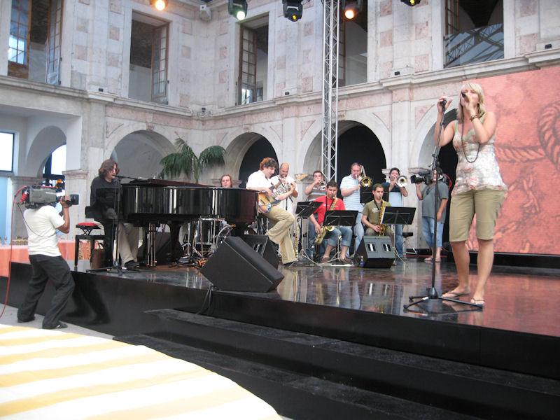 2007-07 Gala dos premios Talento sound check