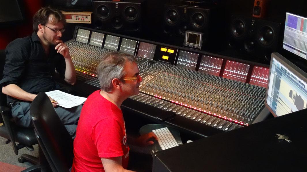 2016-06-10 Power Sound Studio, Marko Bonarius en Paul Pouwer