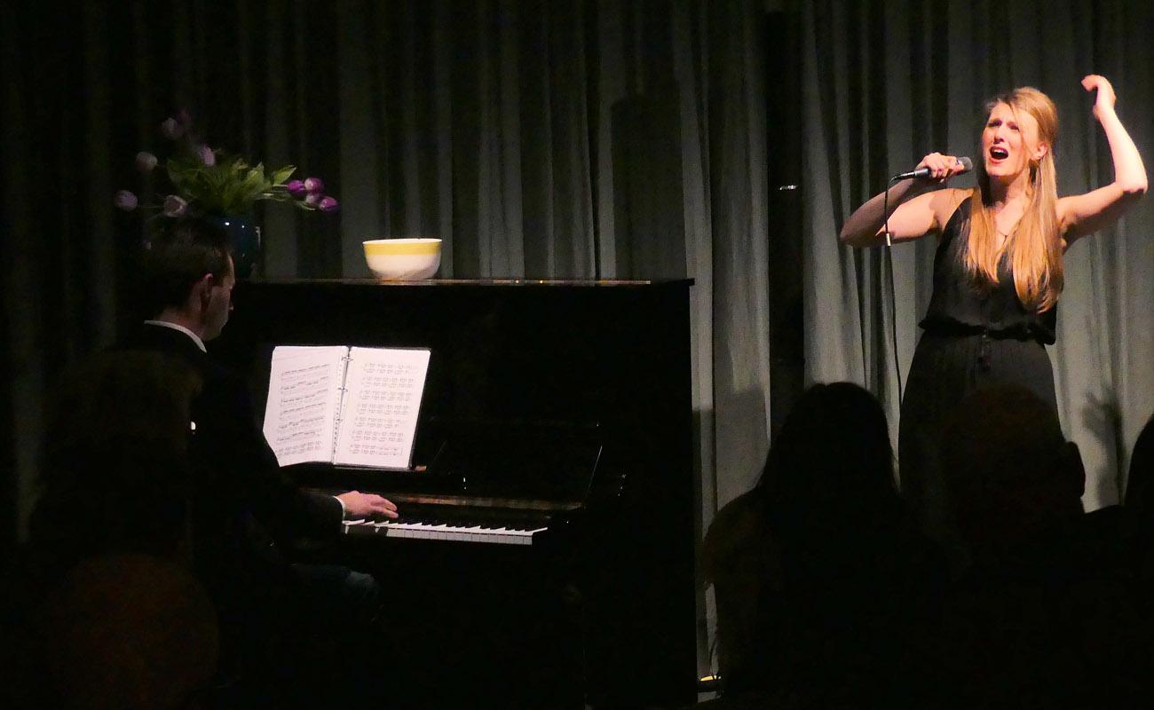 10 februari 2018 Podium Pingjum met Frank Keijzer (piano)