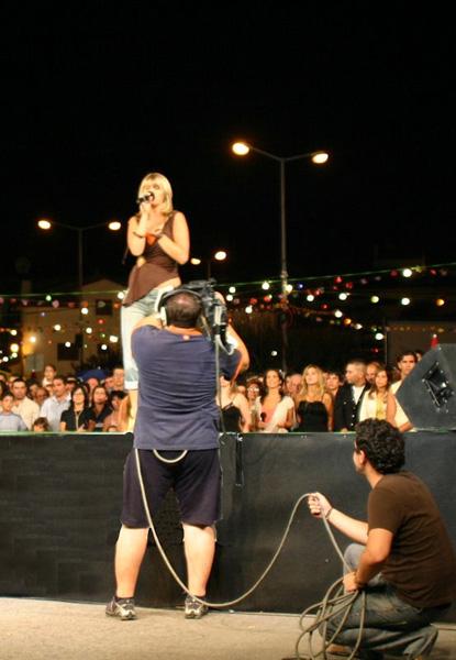 2005-08-13 Portugal a cantar in Santa Combe Dão
