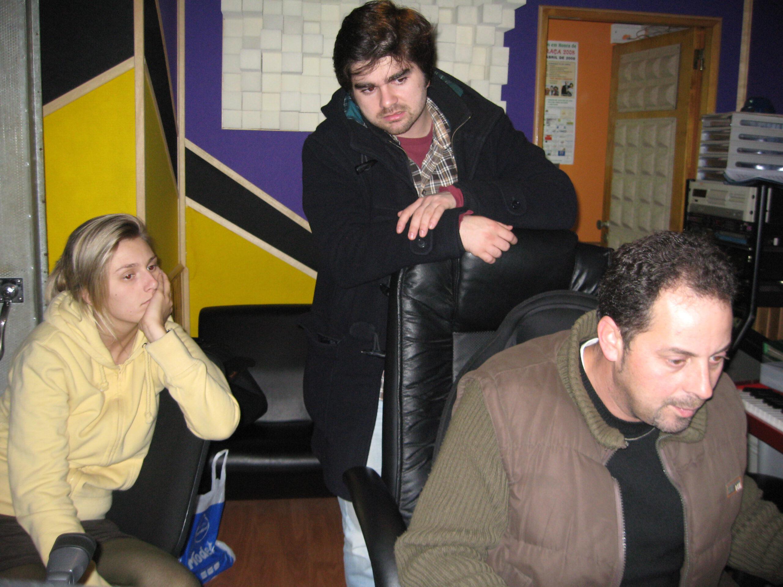2009-02 tot diep in de nacht met Tiago Machado en Fernando Nunes