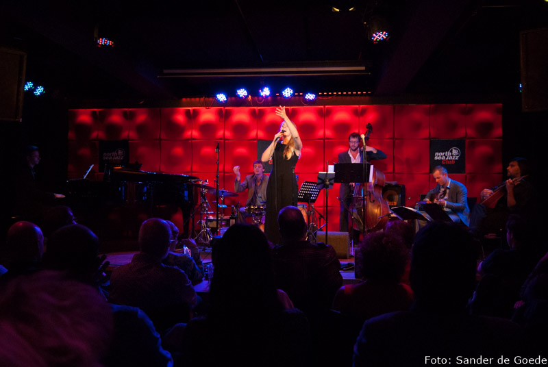 Album presentatie op de verjaardag van Daisy in North Sea Jazz Club in Amsterdam