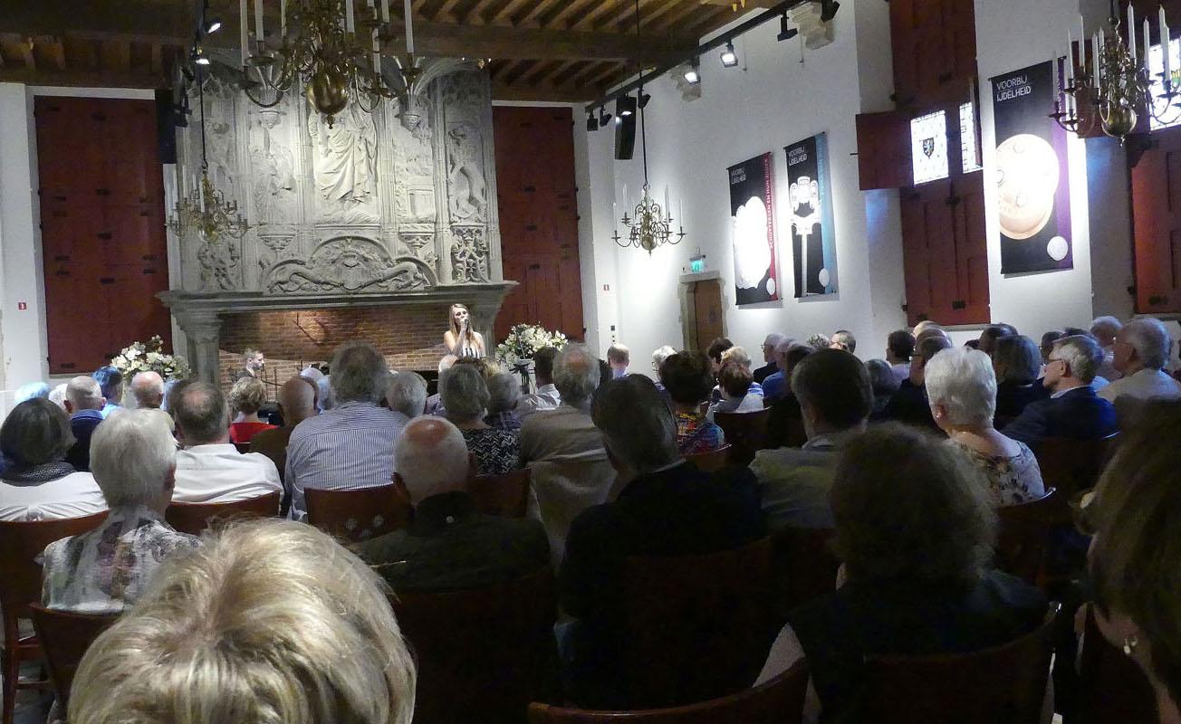 2017-10-15 Hofzaal van het Markiezenhof Bergen op Zoom Daisy Correia en Frank Keijzer