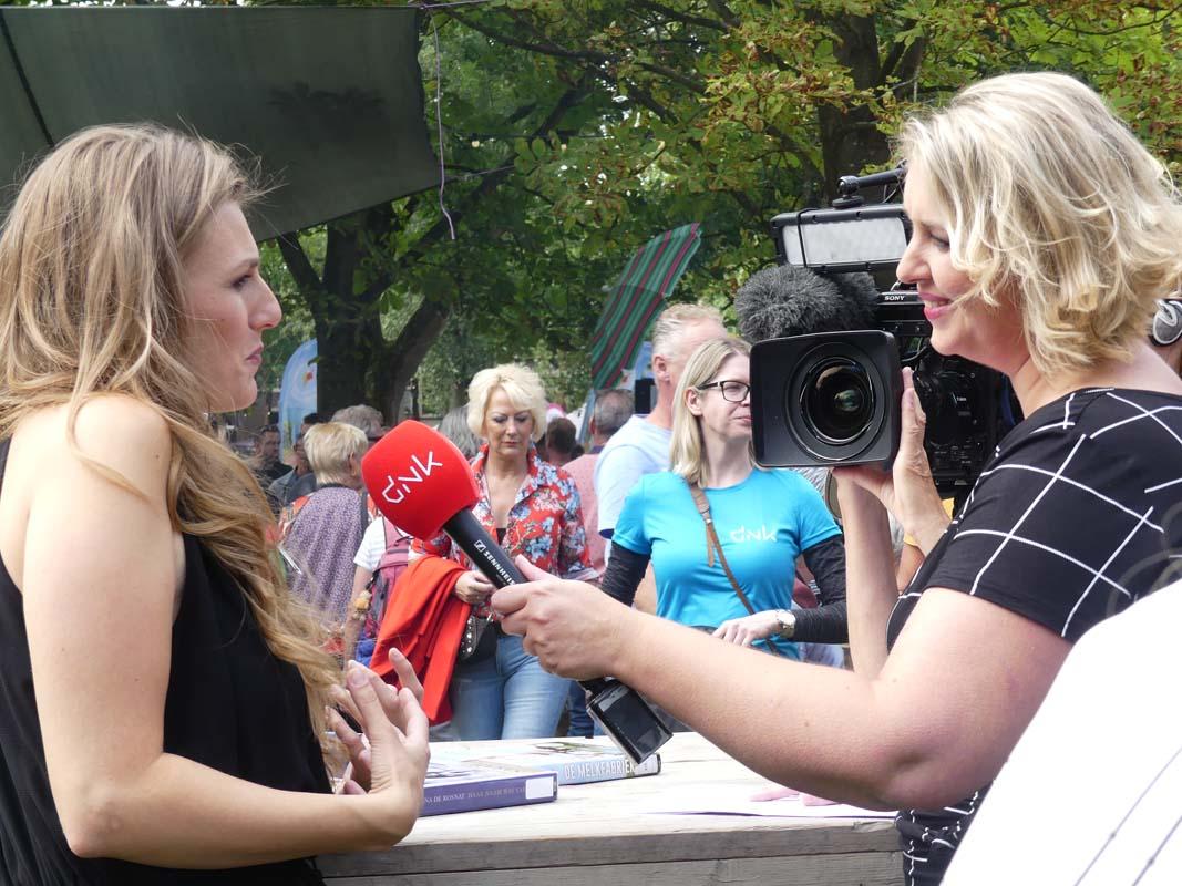 2018-08-26 Preuvenement Assen interview voor RTV Drenthe