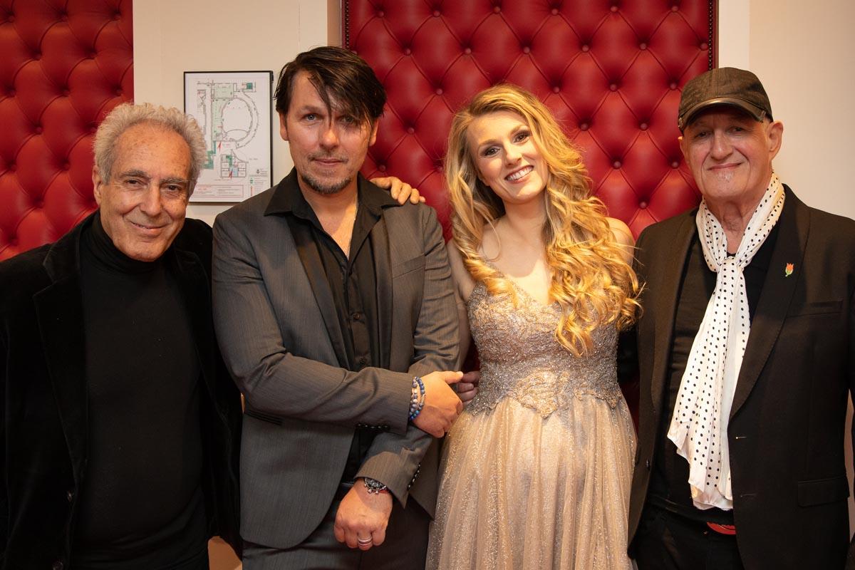 Concertgebouw Daisy met haar gasten: Fernando Lameirinhas, Jan Dulles en Jan Akkerman
