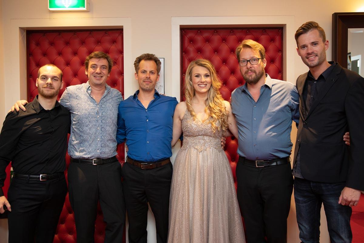Concertgebouw António Costa, Mark de Jong, Joeri de Graaf, Daisy Correia, Marco Bonarius, Frank Keijzer