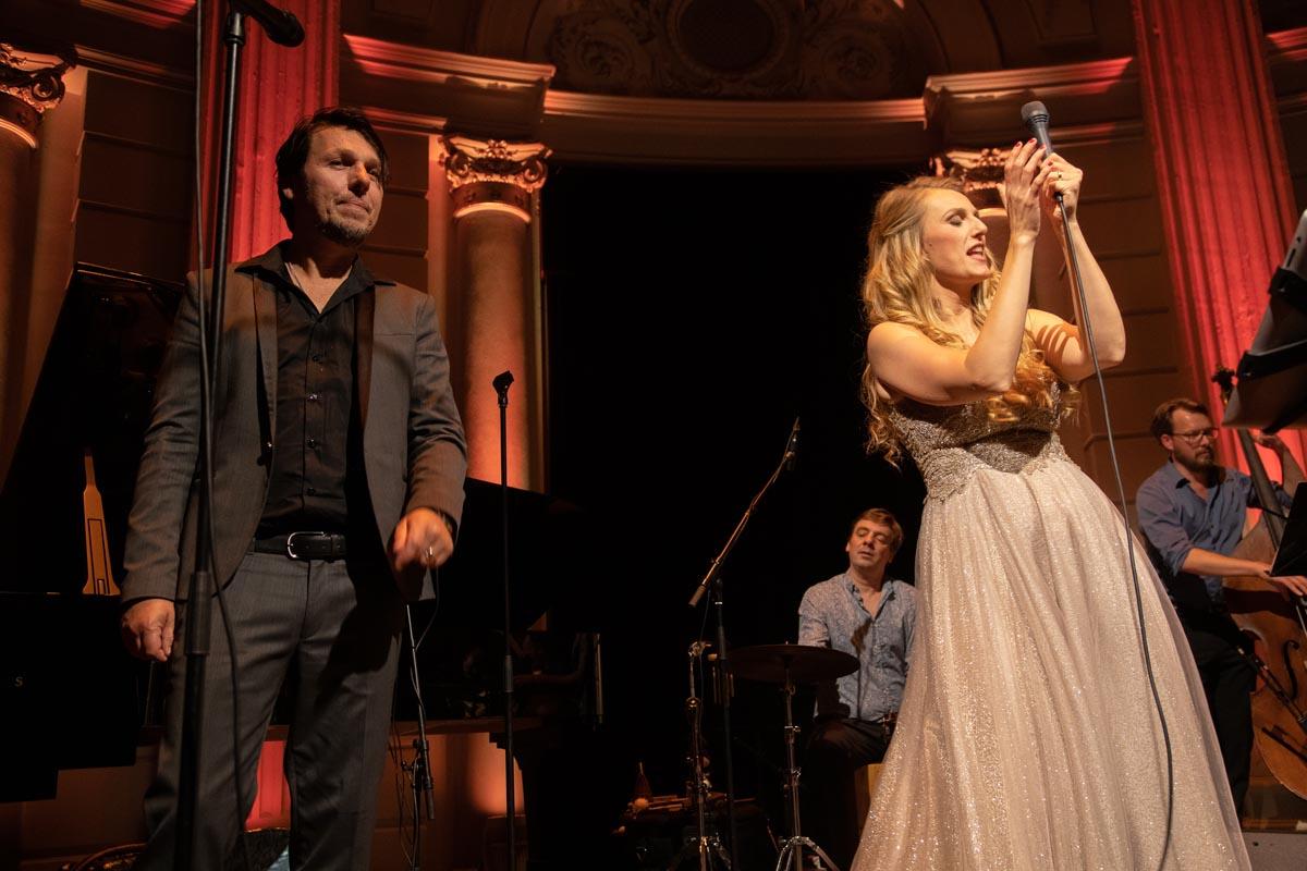 Daisy live Concertgebouw Foto: Hans Speekenbrink